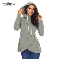2018 Spring Casual Design Women Wholesale Hoodies