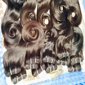 Silky Raw natural hair 7A indian virgin human hair Wholesale Extensions Bulk Weave bundles Machine wefts