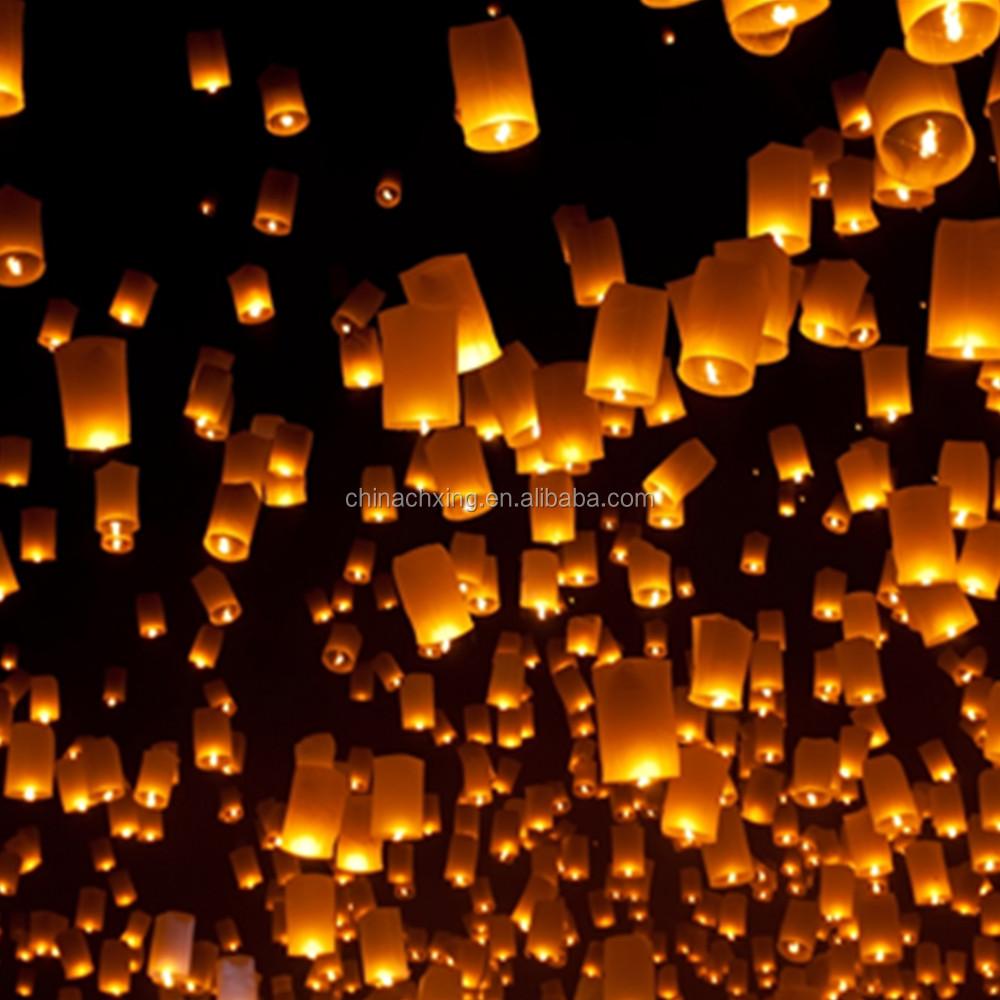 Flying Paper Sky Lantern/ Wish Light/ Love Lantern/ Flying Lantern ... for Flying Lantern Lights  83fiz