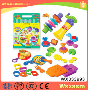 Multi-function wholesale Kids Color Play Dough clay tool Toy