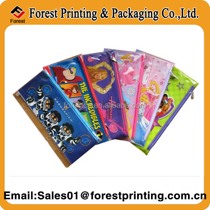 Handle plastic bag,pvc ice bag for shopping , pvc bag for promotional