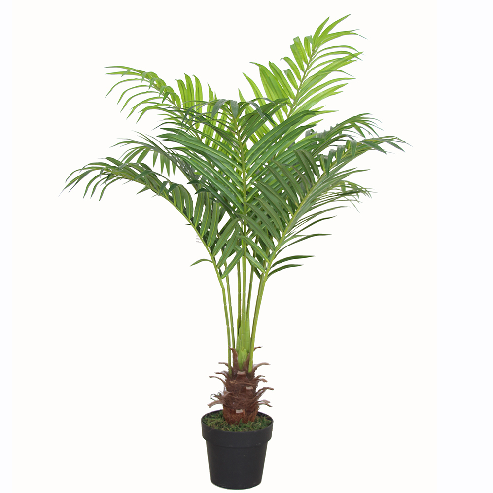 artificial palm plants plastic palm leaves plastic palm trees for