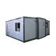 China 20 Foot Container Office Portable Prefab Folding Container Homes