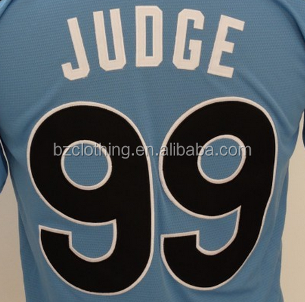American League Aaron Judge #99 Blue 2017 All-Star Game Home Run Derby Jersey