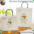 craft paper bag with drawstring handle and white gift bag/paper bag