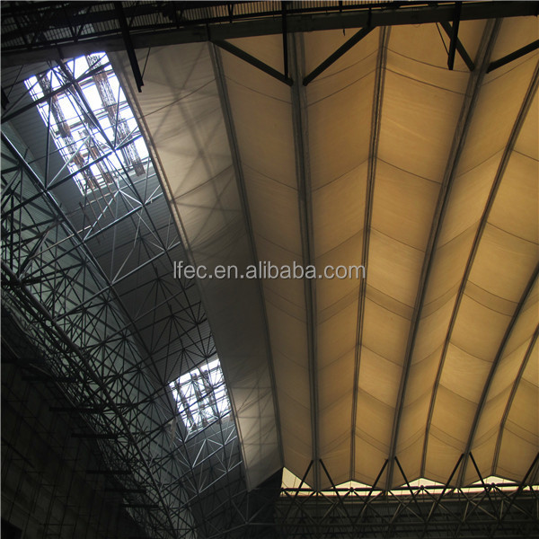 light gauge steel roof truss space frame sports hall