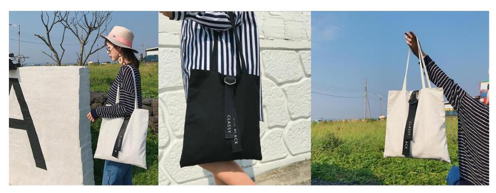 Barato saco de Compras Simples Estilo Personalizado Grande Sacola Reutilizável Saco de Lona, Saco de Lona de Algodão