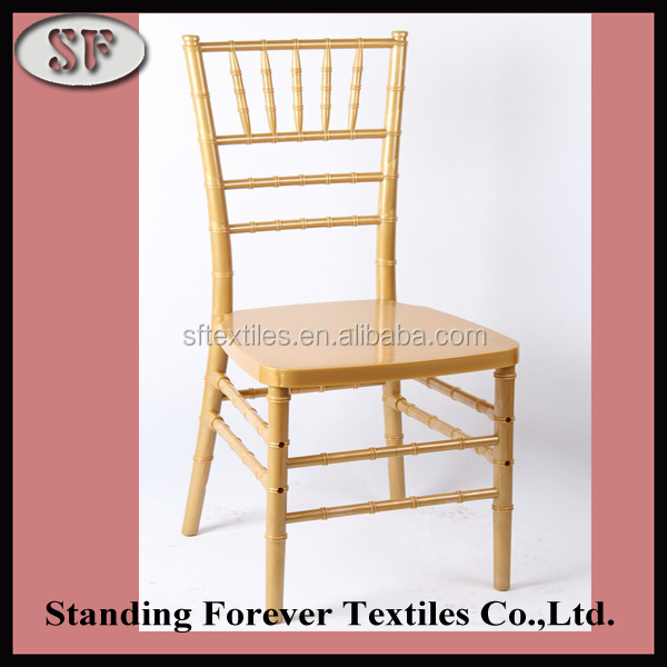 Clear High Quality Gold Acrylic Dining Chair With Factory Price ...