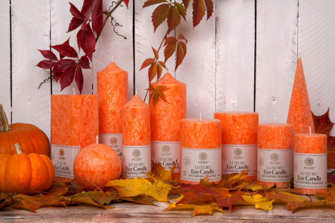 Organic Candles Cotton Wick