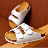 F10105E Wholesale children flip flop boys fashion cork sandals and slippers