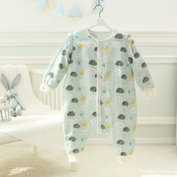 Muslin tree Aanti-bacterial breathable cotton muslin winter baby sleeping bag