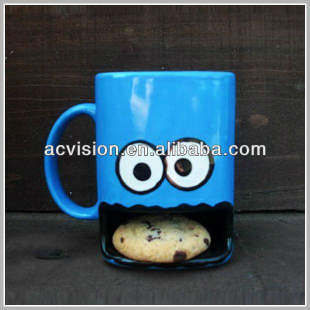 Promotional Ceramic Mug With Biscuit Pocket - Buy Ceramic Mug With ...