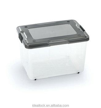 6L/15L/30L/50L/60L/80L/100L Transparent plastic storage  sc 1 st  Alibaba & 6l/15l/30l/50l/60l/80l/100l Transparent Plastic Storage Box / With ...