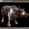 Brass Wall Street Bull Replica Wall Street Bull Sculpture New York