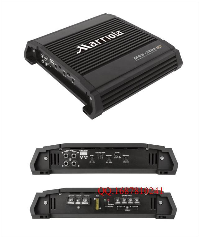 652800 2 channel amplifier car audio amplifier car subwoofer amplifier