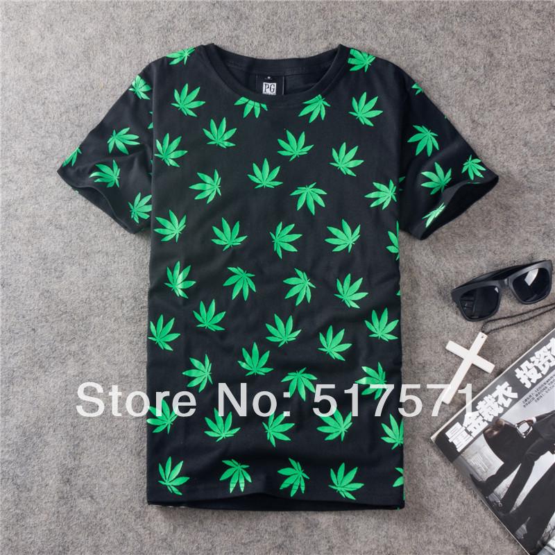 Майки с рисунком марихуана