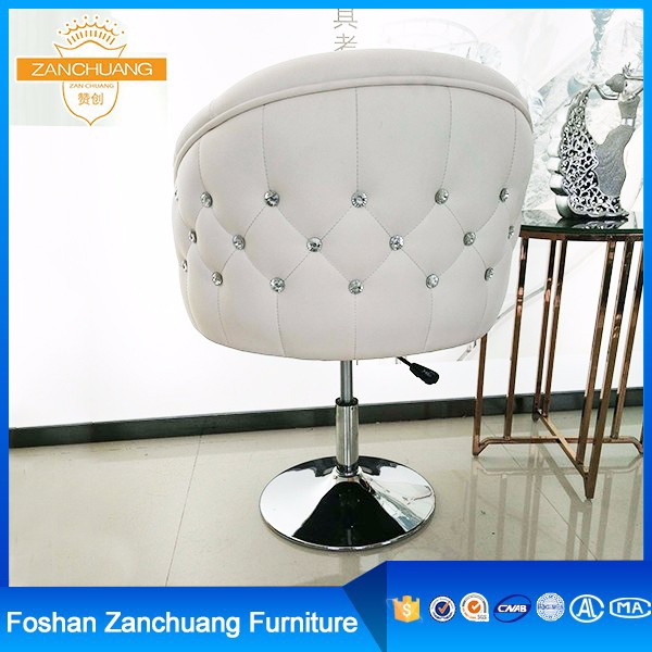 Beauty salon furniture used stainless steel white hair salon chairs for sale