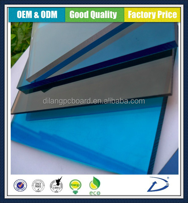 Colored plastic building material ,suitable market prices,polycarbonate solid panel