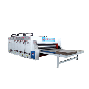 Functional flute corrugation machine slotter printer