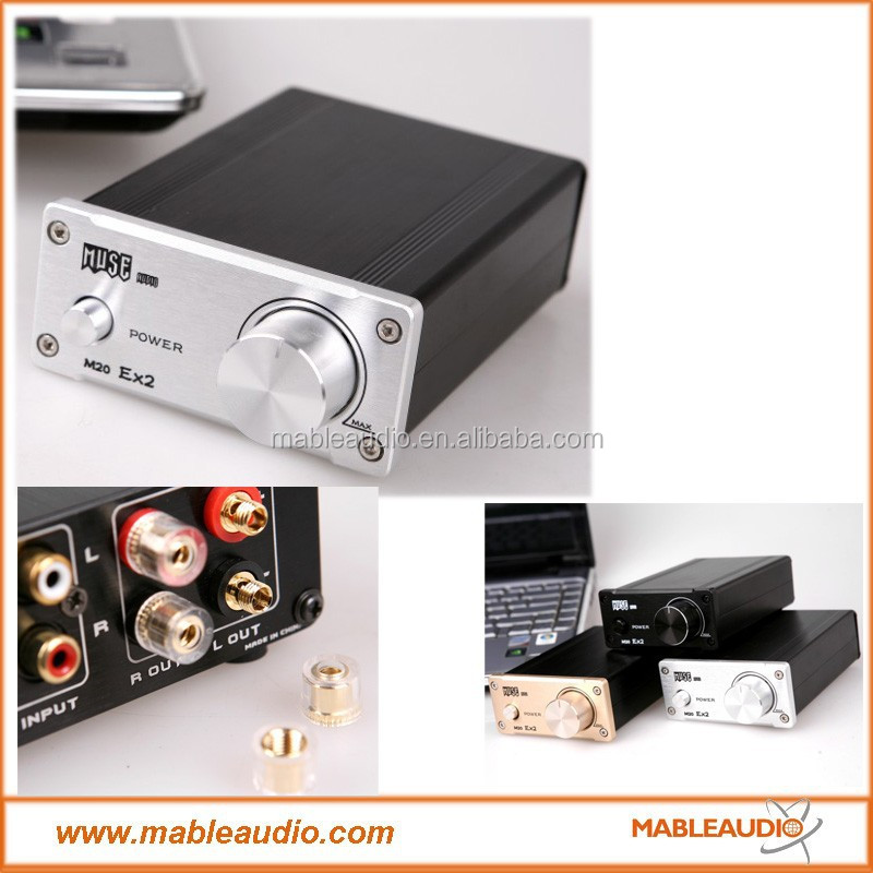MUSE M20 EX2 TA2020 T-Amp Mini Stereo Amplifier 20WX2