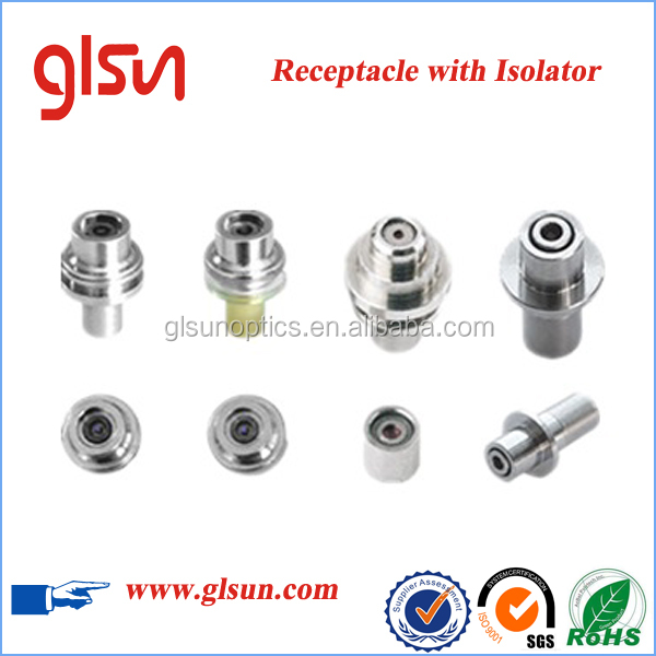GLSUN Receptacle Free Space Isolator for Lasers coupling
