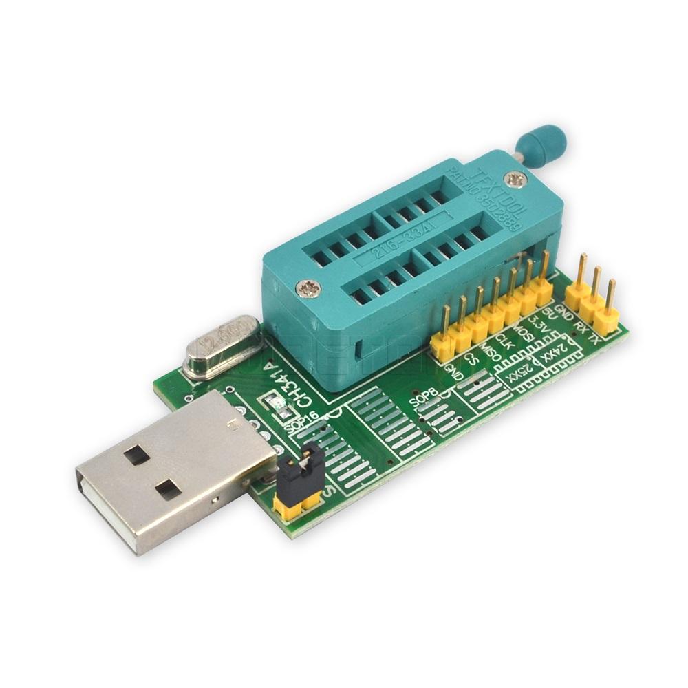 USB Programmer solution to write bios chip Winbond 25Q128FVIQ - Page 1
