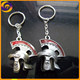 2017 Zinc alloy metal Warrior of Rome helmet 3d keychain