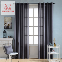 2018 New Style Quality Bindi CSF001 Bedroom Thick Blackout Curtains