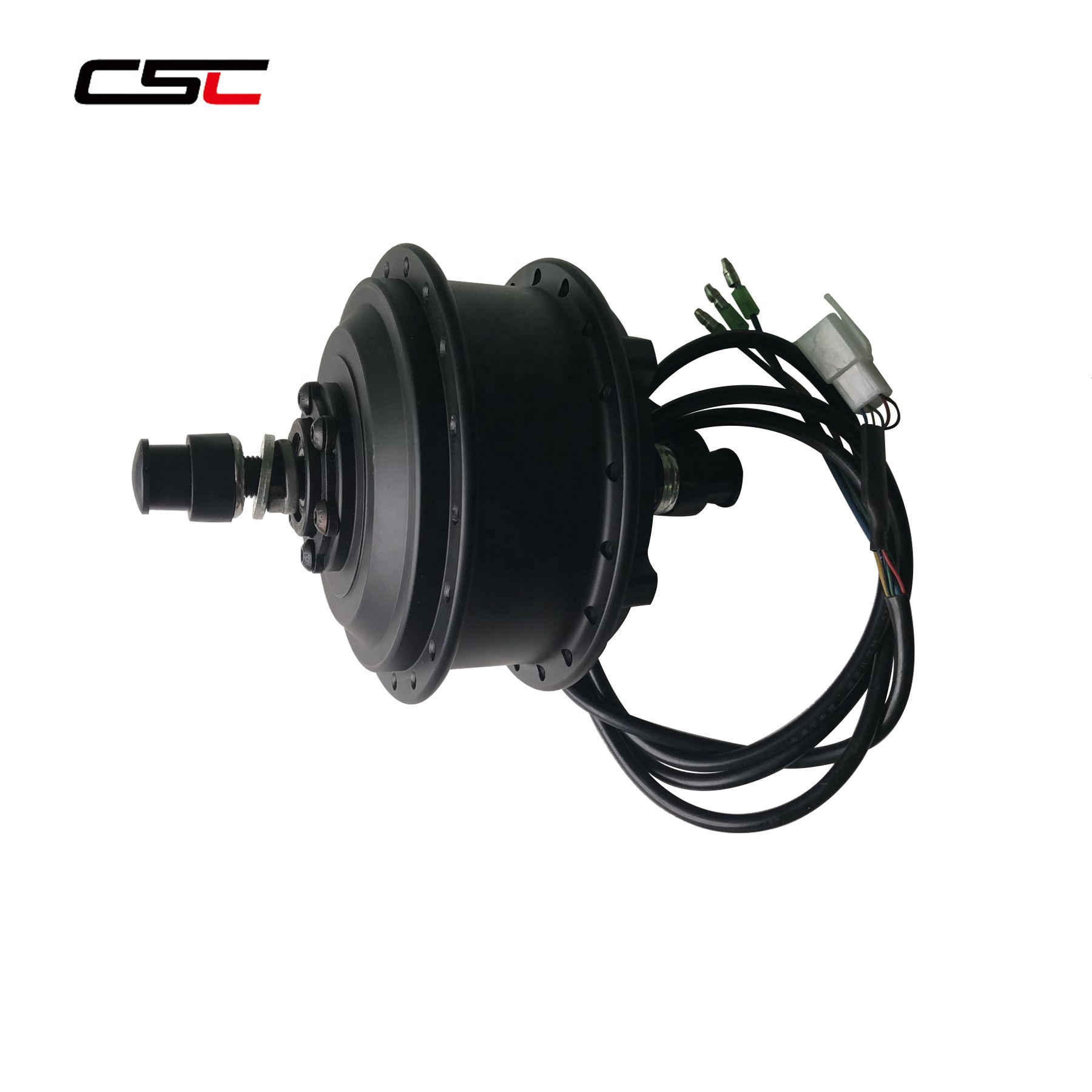 CSC OEM Factory Supply 36V 250W Brushless Geared Electric Bike Front Hub Motor IP54 Approved Front Wheel Motor Electric Bicycle