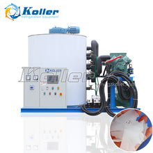 10 tons/day Flake Ice Machine ideal flake ice for cooling project