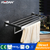 Modern bathroom accessories bathroom standing towel racks brass towel shelf bamboo ladder towel rack