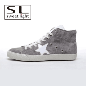Suede Leather High Neck Men shoes