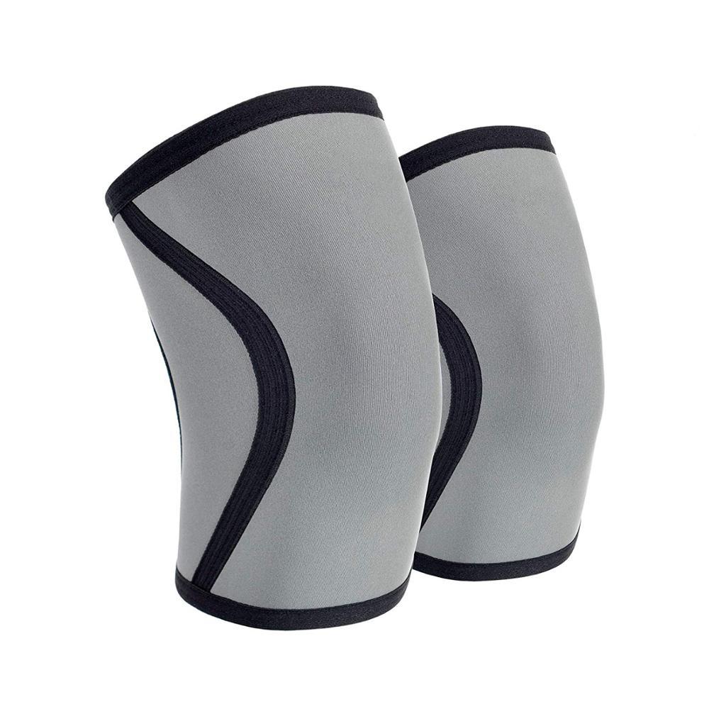 Hot Selling Custom Logo Knee Sleeves 7mm, Good quality Knee Brace Neoprene, Any color available