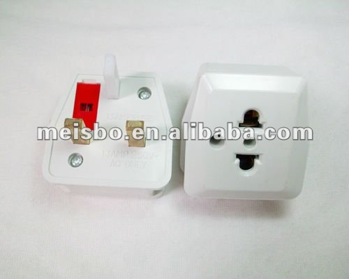 European and American style turn to Britain adaptor travel plug commonly used