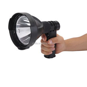 2000 Lumens Rechargeable searchlight Cree 25w single bulb NFC96-25W black hunting search light