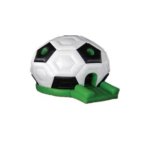 PVC tarpaulin football castle inflatable bouncers for sale