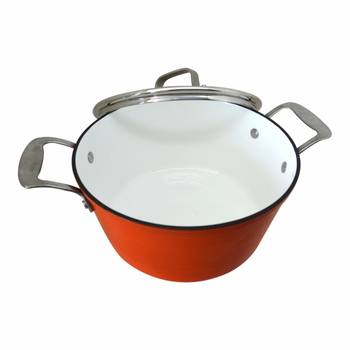 Muti Function Non Stick Enamel Cast Iron Sauce Pots With Lid Buy