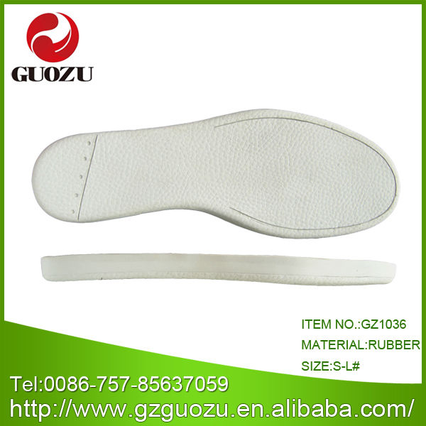 Different kinds of rubber soles for wholesale in China