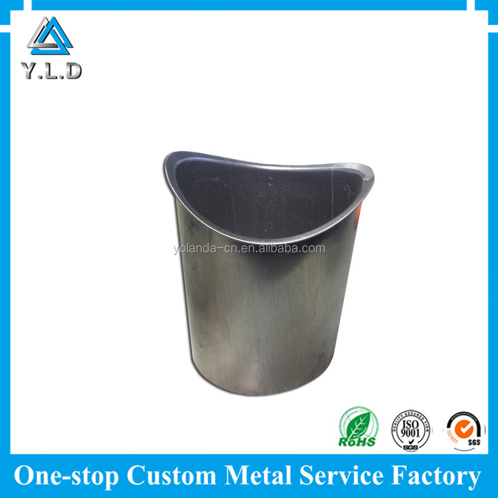Stamped Metal Parts Custom Stainless Steel Rubbish Bin