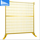 many colors canada and american market popular product removable flat feet outdoor temporary fence