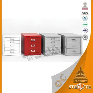 China Supplier Steel Cabinet 3 Drawer Metal File Cabinet / Vertical File Cabinet / CD Storage Cabinet