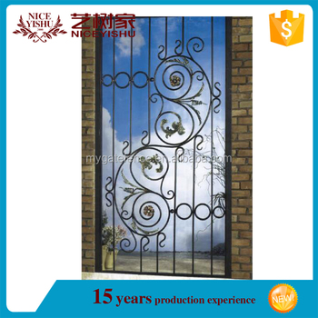 Wrought iron door grill designs house gate designs wrought iron patio doors