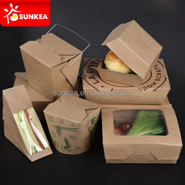 Mini Fast Food Burger Boxes