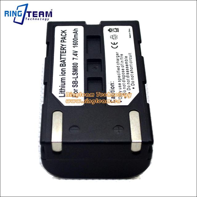 Batería SB-LSM80 SBLSM80 800mAh para Samsung SC-D351 SC-DC175 VP-D454