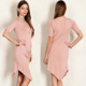 Custom 1920s Dress 95% RAYON MODAL 5% SPANDEX SOLID KNIT SCOOP NECK JERSEY DRESS Western Dresses Names Photos