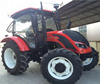 Hot sale 4x4 100hp-125hp 6 Cylinder with air conditioner Agriculture farm Wheel Tractor Made in China