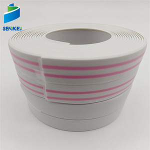 Export To India PVC TISSUE CAULK STRIP Self Adhesive Tape PE BUTYL RUBBER WATERPROOF TAPE FOR KITCHEN BATHROOM