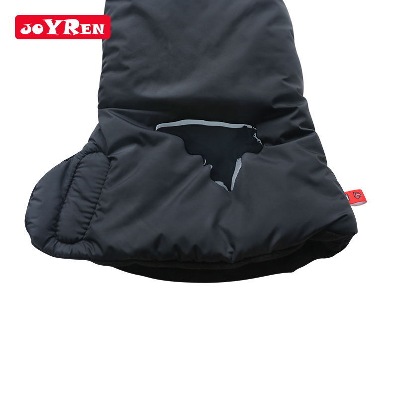 Outdoor Winter Waterproof Baby Stroller Glove Anti-freeze Muff Hand Protector Mitts