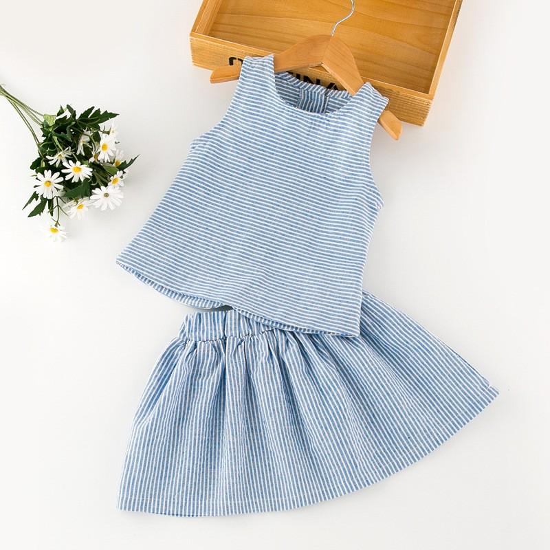 bd9b46d4d Bulk Wholesale Kids Summer Clothing Girl Skirt And Crop Top Set - Buy Bulk  Wholesale Kids Clothing