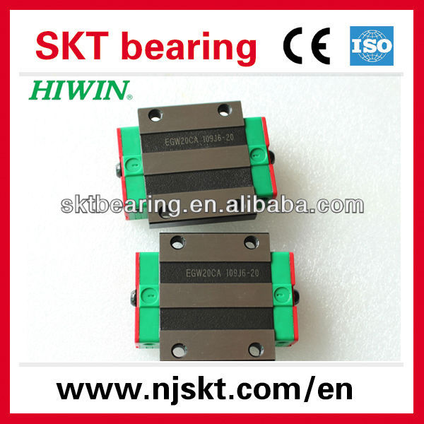 HIWIN Low profile linear guide rail EGW20SA,Slider bearing for 20mm